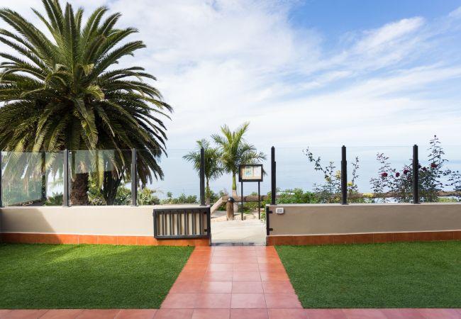 Apartamento en La Matanza de Acentejo -  1 dormitorio,  VISTA MAR, PISCINA CLIMATIZADA, calefacción, Wifi gratis, gran terraza (1)